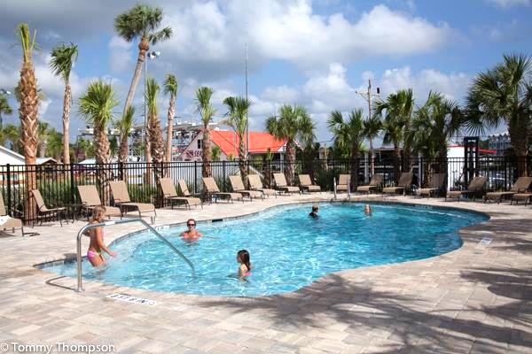 Shacks At Sea Hag Added A Pool Summer 2017