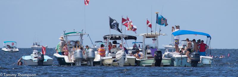 Scalloping5boats 1 Sea Hag Marina And The Shacks At Sea Hag