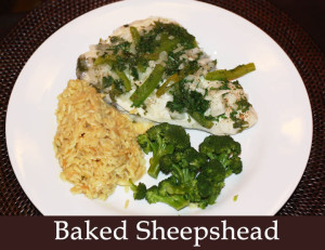 Recipes sea hag marina and the shacks at sea hag for Sheepshead fish recipe