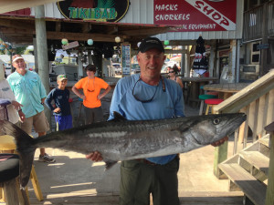 Ken Knopf with the big kingfish
