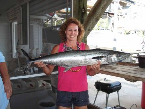 And Debby Knopf claimed the largest kingfish in the tournament.