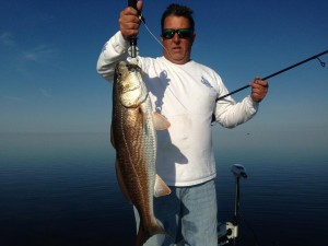 Mike Reeves fished south of Pepperfish Keys to find this fine redfish.