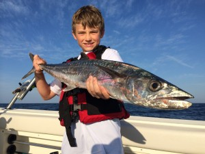 Joel Michael Presley landed this excellent kingfish and an amberjack on a recent trip.