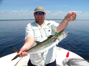 Alexander Tanner from Woodstock, Ga. caught this nice Spanish mackerel out of Keaton Beach.