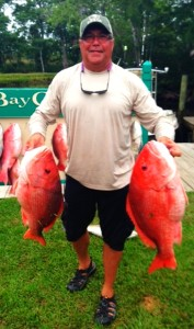 Max Leatherwood took his talents offshore and red snapper paid the price.