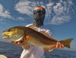 Trevor Soety from St. Cloud was playing anonymous when he caught this perfect tournament redfish