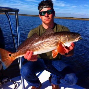 Branson Green with a nice redfish.