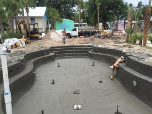….and finally a picture of the soon-to-be-opened Sea Hag Marina pool.