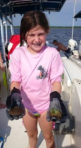 Jodie Parks really loved scalloping.
