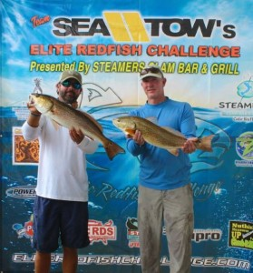 Our own Scott Peters and Danny Sheldon finished a close second in the Elite Redfish Challenge.