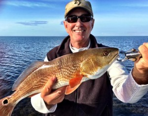 Doug also caught several nice reds on that trip earlier in the month