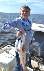 Blaine Smith with a great redfish.