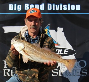 Rick Carl caught the biggest legal redfish in the Pro Tournament and it weighed 8.58 pounds!