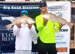 Brian Black and Nick Allen won the Florida Pro Redfish Series event at Steinhatchee with this fine pair.