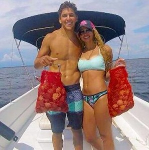 Luke Matthews and Chaeli Norwood found easy scallop limits.
