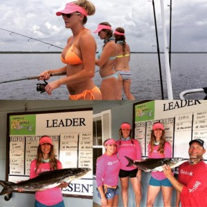 My buddy Melissa Macarages won first place cobia fishing with friends.