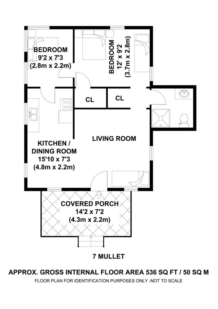 #7 Mullet Shack - Floor Plan