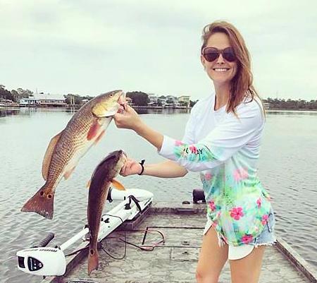 Stephanie hutchins gainesville fl redfish sea hag marina for Fishing in gainesville fl